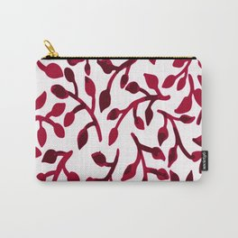 Wine Kissed Petals Carry-All Pouch