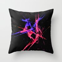 dancer Throw Pillows featuring Dancer by Brian Raggatt