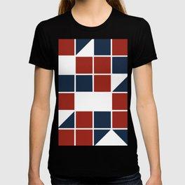 Patriotic shapes T-shirt