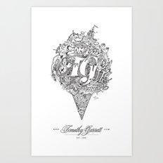 TG - Cone Art Print