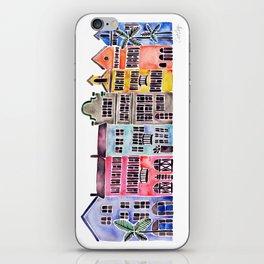 Rainbow Row – Charleston iPhone Skin