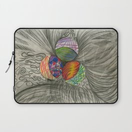 Draw What You Think Laptop Sleeve
