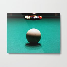 Racked and Ready Metal Print
