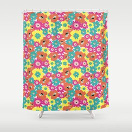 Late spring flowers Shower Curtain