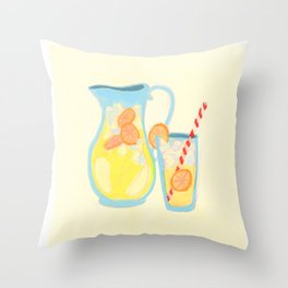 Southern Hygge: Lemonade Throw Pillow