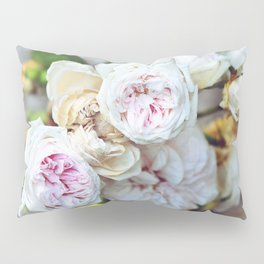 The Last Days of Spring - Old Roses I Pillow Sham