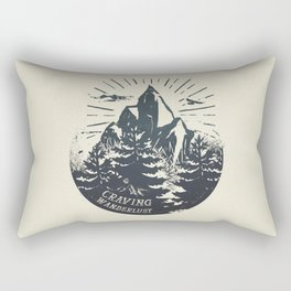 Craving wanderlust III Rectangular Pillow