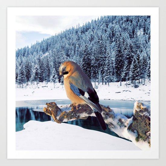 Winter Moments Art Print