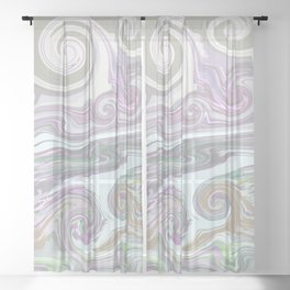 LIGHT MIX Sheer Curtain
