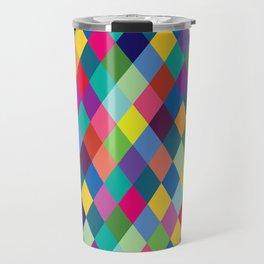 Geometric Pattern #8 Travel Mug