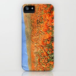 Golden Poppies in My Dreams iPhone Case