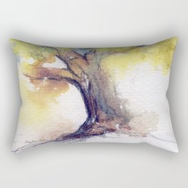 My Tree watercolor by CheyAnne Sexton Rectangular Pillow