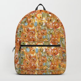 Cat Crowd—Pattern Backpack