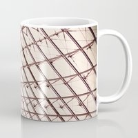 pyramid Mugs featuring pyramid by shannonblue
