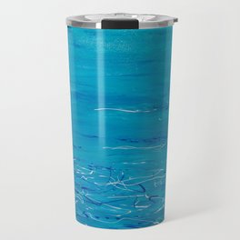 Dreamy Ocean Blues Travel Mug