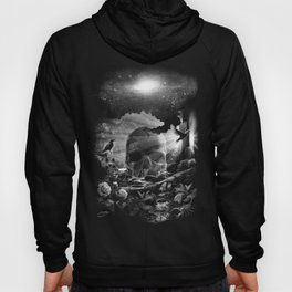XIII. Death & Rebirth Tarot Card Illustration (Alternative Version) Hoody
