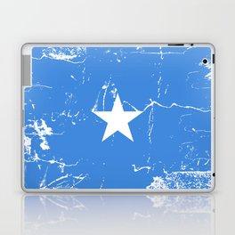 Somalia flag with grunge effect Laptop & iPad Skin