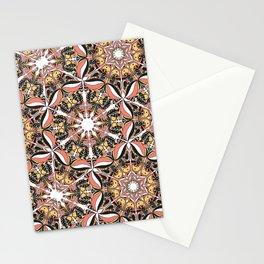 Arabesque doodle Stationery Cards