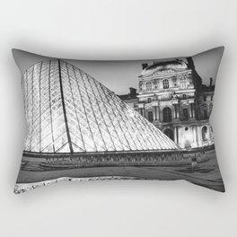 Louvre Paris City Rectangular Pillow