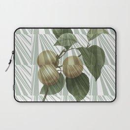 Geometrical vintage apricots collage Laptop Sleeve