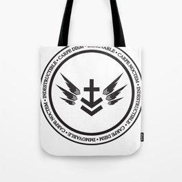 Immovable & Indestructible (Black Design) Tote Bag