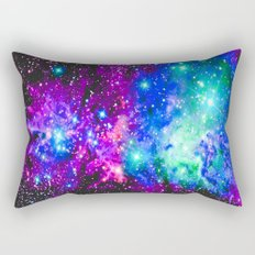 Fox Fur Nebula Galaxy Rectangular Pillow