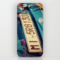 porsche iPhone & iPod Skins featuring Porsche by Sébastien BOUVIER