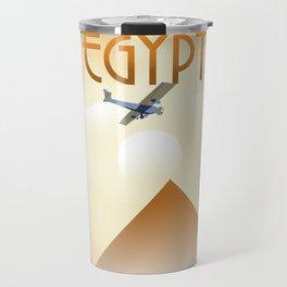 Egypt Travel poster Travel Mug