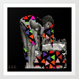 She Lives In The Pyramid Art Print