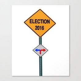 elections 2016 Canvas Print
