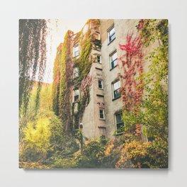 Autumn - New York City - East Village Garden Metal Print