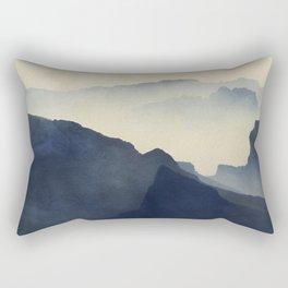 Cold Mountains Rectangular Pillow