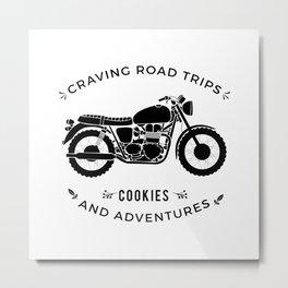 Bonneville - Road Trips Metal Print