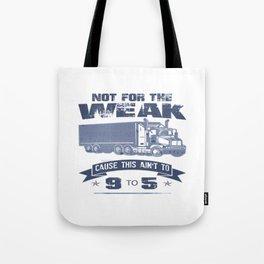 TRUCKER DRIVER Tote Bag