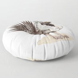 Greater Sage-Grouse Floor Pillow
