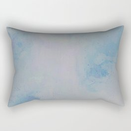 Concrete Clouds Rectangular Pillow