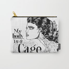 My body is a cage Carry-All Pouch
