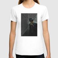 noir T-shirts featuring Noir by Abel Fdez