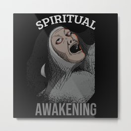 Spiritual Awakening Metal Print