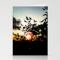 sunset Stationery Cards featuring Sunset by Mauricio Santana