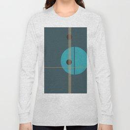Geometric Abstract Art #4 Long Sleeve T-shirt