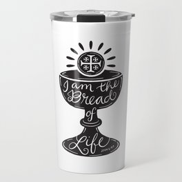 Catholic Communion Bread of Life Travel Mug