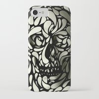 david iPhone & iPod Cases featuring Skull by Ali GULEC