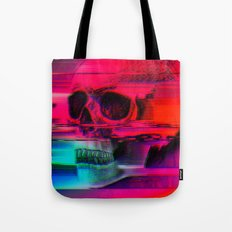 Mortality Glitch Tote Bag