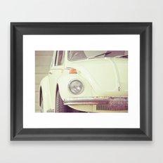Beetle Bug Framed Art Print