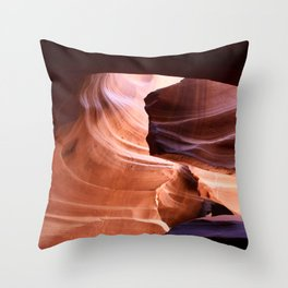 Nature's Abstract Throw Pillow
