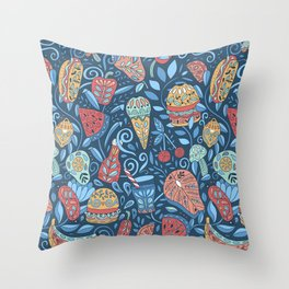 Summer cookout Throw Pillow