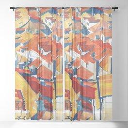 Dubrovnik Sheer Curtain