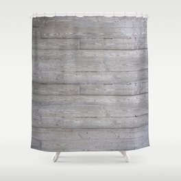 Boarded 1 Shower Curtain