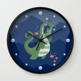Ogopogo Wall Clock